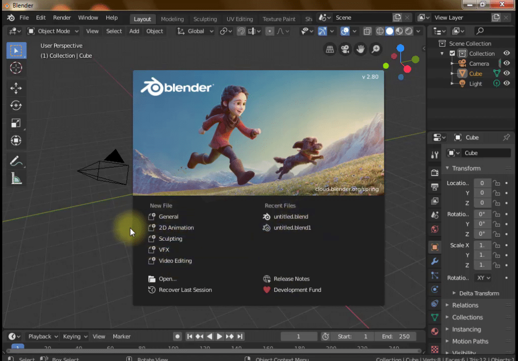 How to Run Blender 2.8 Without Graphics Card